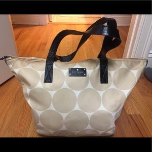 Kate spade beige circle bag